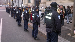 Montreal Police Clear Occupy Camp